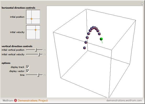 Popup1g 3d projectile motion ccuart Gallery