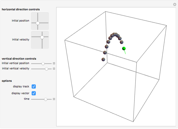 3D Projectile Motion - Wolfram Demonstrations Project