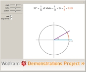 Angles Measured in Degrees and Radians
