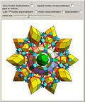 Assembly of 60 Rhombic Dodecahedra