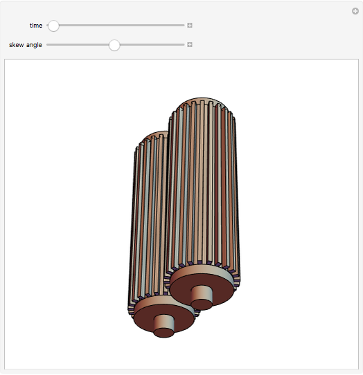 Connecting Skew Axles with Hyperboloidal Gears - Wolfram