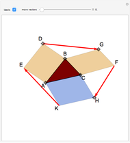Signed 2D Triangle Area from the Cross Product of Edge Vectors