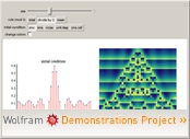 """Continuous Cellular Automaton with Math Rules I"" from The Wolfram Demonstrations Project"