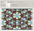 Digital Kaleidoscope: Triangular Tiling with Textures