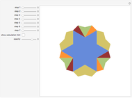 Dissecting a Decagram {10/4} into Two Decagons - Wolfram
