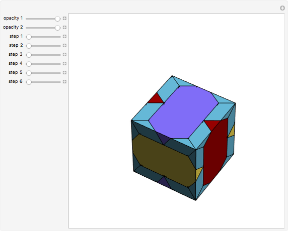 Dissection of a Cube into Five Polyhedra - Wolfram