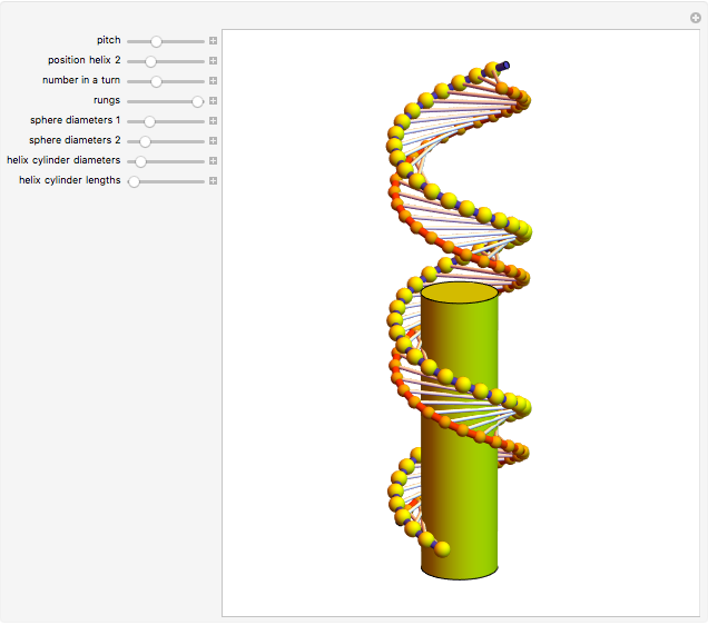 double helix wolfram demonstrations project