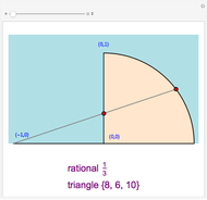 Pythagorean Triples - Wolfram Demonstrations Project