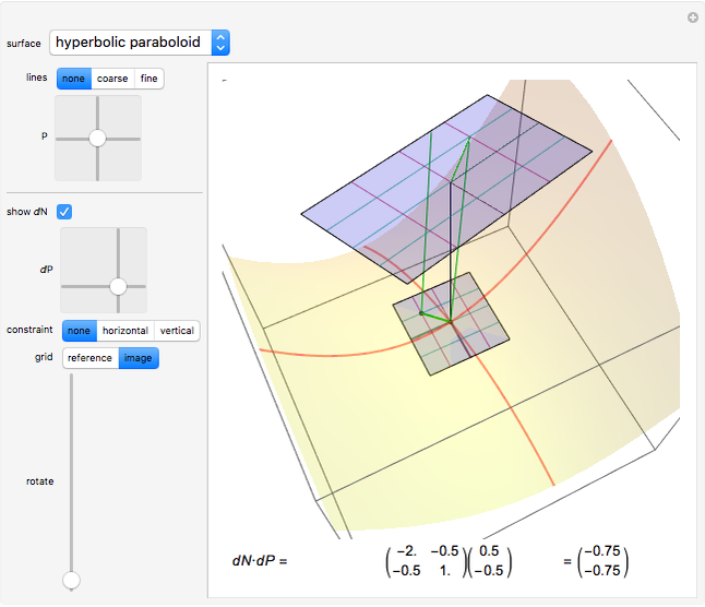 Exploring Surface Curvature and Differentials - Wolfram
