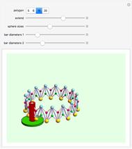 Circular Scissors Lift - Wolfram Demonstrations Project