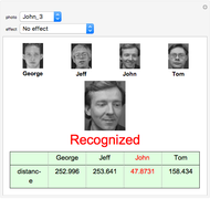 Face Recognition Using the Eigenface Algorithm - Wolfram