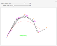 Generating a Bezier Curve by the de Casteljau Algorithm - Wolfram