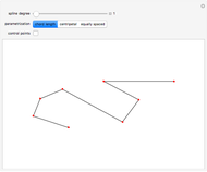 Generating a B-Spline Curve by the Cox-De Boor Algorithm - Wolfram