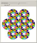 Hexagonal Pattern Made of Tetrahedra