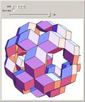 Icosahedral Compositions of Rhombic Dodecahedra of the Second Kind