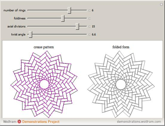 Interactive Rings Tessellation