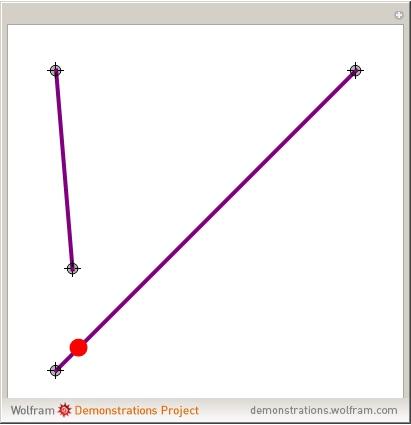 line segment from wolfram mathworld