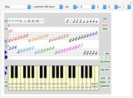 Piano Keys - Wolfram Demonstrations Project