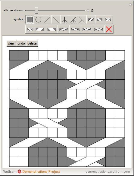 Knitting Charts Wolfram Demonstrations Project