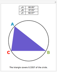 Maximum Rectangle Inscribed in a Circle - Wolfram ...