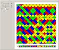 Making Patterns with Wang Tiles
