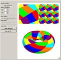 Map Coloring on a Torus