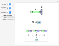 Multiplying a Matrix by a Number - Wolfram Demonstrations Project