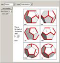 Mazes on a Polyhedron with Six Views