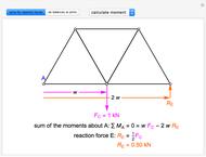 Solving a Double Scissor Truss - Wolfram Demonstrations Project