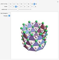 Rolling Ring Of Tetrahedra
