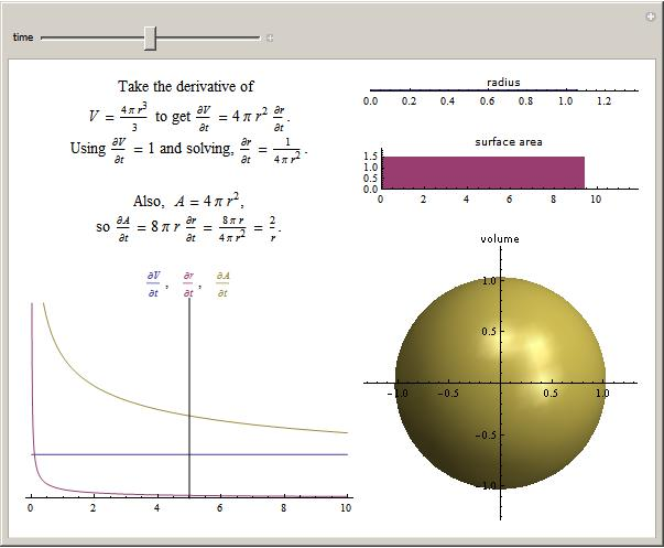How do you find SURFACE AREA of a cylinder in terms of its RADIUS?