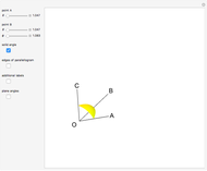 how to find angle between given planes