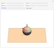 Parallel Transport on a 2-Sphere - Wolfram Demonstrations