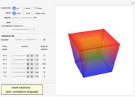 Rotating a Cube Using Quaternions - Wolfram Demonstrations