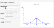 Bayesian Distribution of Sample Mean - Wolfram