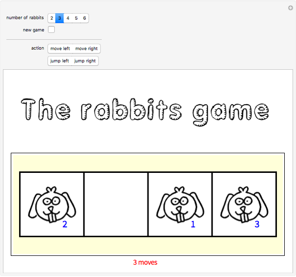 The Rabbits Game - Wolfram Demonstrations Project