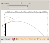Wolframdemonstration: Throw off a Cliff