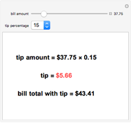 tipping calculator