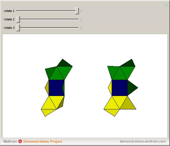 Two Ways to Fold a Net into a Biaugmented Triangular Prism