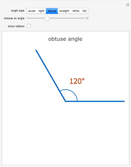 Types of Angles - Wolfram Demonstrations Project