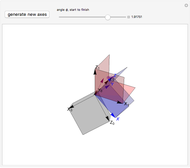 Rotating a Unit Vector in 3D Using Quaternions - Wolfram