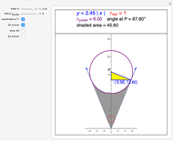 Volume under a Sphere Tangent to a Cone - Wolfram